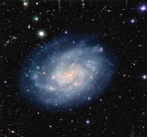 Galaxy as seen by the VLT
