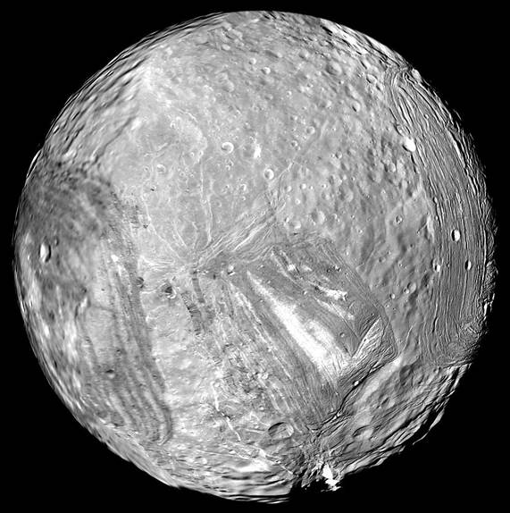 The Uranian moon Miranda