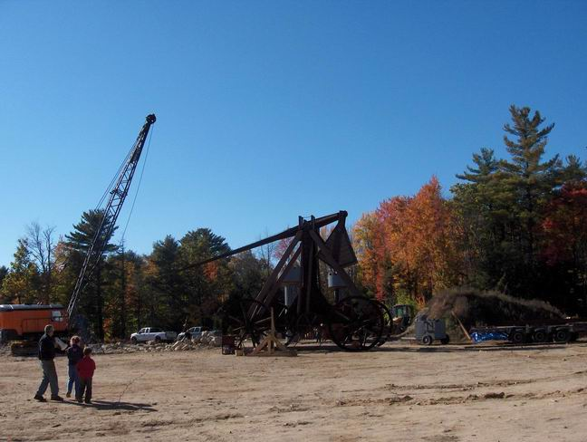 Trebuchet at Yankee Siege in NH