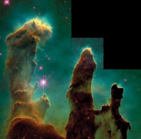 the Eagle Nebula from HST