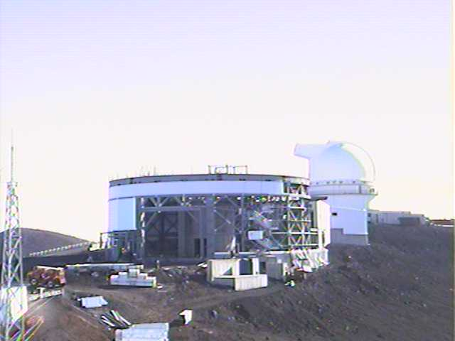 View of Gemini Observatory, November 1996