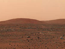 The East Hills of Gusev Crater, Mars