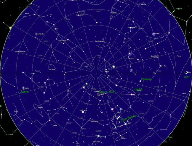 Star Map North...
